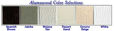 Alumawood Patio Cover Color Options